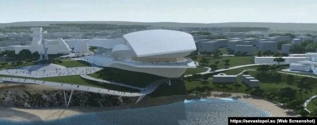 Проект театра оперы и балета в Севастополе от компании Coop Himmelb(l)au