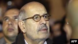 Египетскиот опозициски лидер Мохамед Ел-Барадеј.