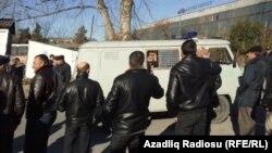 Azerbaijan. Ismayilli. court