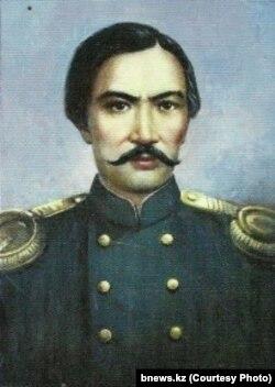 Чокан Валихановдун портрети.