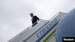 Джон Керрі в Самарканді, 1 листопада 2015 року