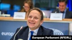 Новиот еврокомесар за соседство и проширување Оливер Вархели