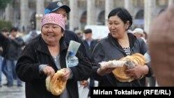 Оппозициянын Бишкекте өткөн митинги, 2013-жыл.