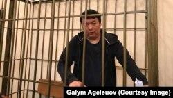 Муратбек Тунгишбаев в зале суда. Иллюстративное фото.