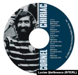 """Albumul comemorativ """"Blînda insurecție a lui Cornel Chiriac"""", lansat de Radio Europa Liberă la 35 de ani de la asasinarea lui Cornel Chiriac, București, 30 martie 2005."""