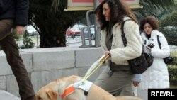 Nekoliko priča RSE bilo je posvećeno Marijani Mugoši, djevojci iz Podgorice kojoj je gradonačelnik zabranio dolazak na posao sa njenim psom, vodičem za slijepe, Ksenom