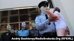 од протестите против полицијата по случајот со силување