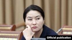 Индира Жолдубаева.