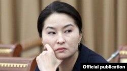 Башкы прокурор Индира Жолдубаева.