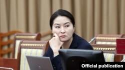 Генеральный прокурор Кыргызстана Индира Жолдубаева.