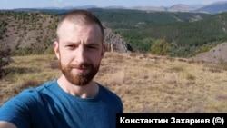 Константин Захариев е собственик на фирма за почистване. Снимка личен архив