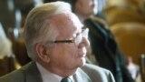 Matyas Szuros, fostul președinte al Parlamentului Ungariei, și președintele interimar al celei de-a Treia Republici Maghiare.