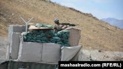 آرشیف، یک پاسگاه نیروهای امنیتی افغان