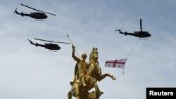 Основная военная составляющая праздника Дня независимости Грузии была сконцентрирована на площади Свободы