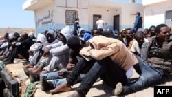 Migranti iz Libije