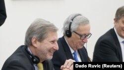 EU zvaničnici na balkanskoj turneji