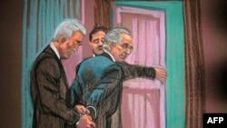 Бернард Мэдофф в суде
