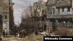 Луіза Рэйнэр, «Чэстэр, вуліца Ўотэргейт» (1876)