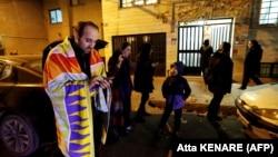 Люди вийшли на вулиці Тегерана через землетрус в ніч на 21 грудня 2017 року