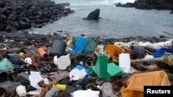 Mbeturina nga plastika.