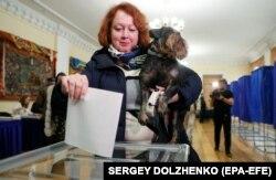 Учасниця виборів президента України, 31 березня, Київ