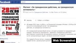 Facebook используется гражданскими активистами во многих странах, среди которых - Россия
