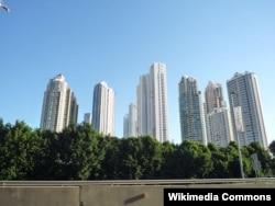 В городе Панама уже 10 лет продолжается строительный бум