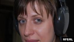 Moldova -- Valeria Vitu, RFE correspondent Mar2009
