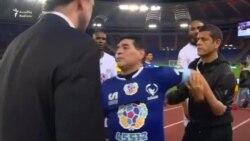 Maradona xeyriyyə matçında dava salmaq istədi