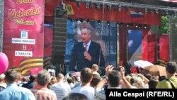 Dmitri Rogozin de Ziua Victoriei la Chişinău, 9 mai 2013