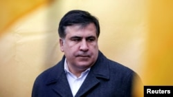 Mikheil Saakashvili says he will fight to regain his Ukrainian citizenship.