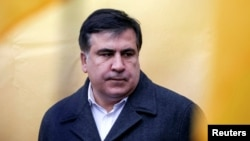 Михаил Саакашвили. Киев, 27 ноября 2016 года.