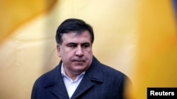 Former Georgian President and former governor of Odessa region Mikheil Saakashvili (file photo)