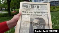 'Da je Tito umro mnogo ranije, mislim da bi bilo više pregovaranja oko budućnosti Jugoslavije, jer je ona opstajala, ne samo zbog Tita, nego i zbog blokovskih podjela. Jugoslavija je nestala u trenutku urušavanja onog sustava, koji je bio na djelu od 1945. godine nadalje'