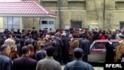 Очередь на получение общегражданских паспортов в Баку, 12 декабря 2007