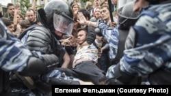 Задержания 12 июня в Москве.