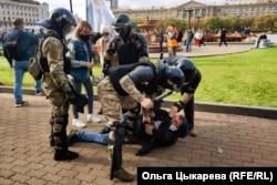 Задержание Андрея Маклыгина