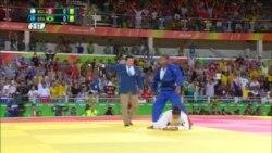 Аввалин медали тилои мизбони бозиҳои олимпӣ