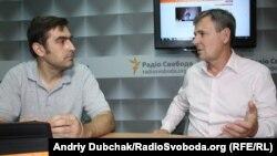 Юрій Одарченко (праворуч)