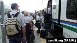 Афросиёб тезюрар поезди