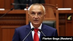 Presidenti i Shqipërisë, Ilir Meta. Foto nga arkivi.