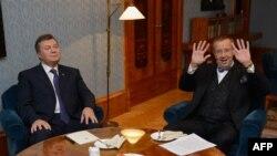 Таллинн, 15 октября. Президенты Эстонии и Украины Тоомас Ильвес и Виктор Янукович