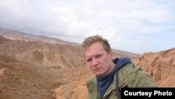 Польский турист Кристиан Фред