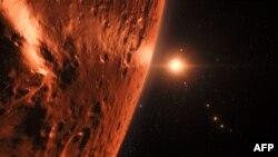 NASA-ның җиргә охшаш планетлар турында чыгарган фотосы