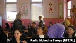 """Архивска фотографија - Дневен центар за лица со интелектуална попреченост во Основното училиште """"Браќа Миладиновци"""" во Куманово."""