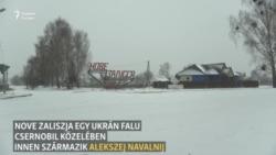 Egy falu Csernobil közelében, ahol szinte mindenki Navalnij rokona