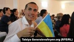Учень української гімназії в Сімферополі