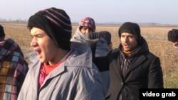 Izbjeglice na granici Srbije i Hrvatske