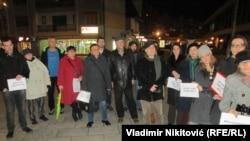 Sa protesta u Čačku, foto: Vladimir Nikitović