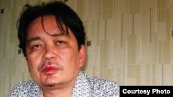 Актюбинский журналист Игорь Ларра. 21 августа 2013 года.